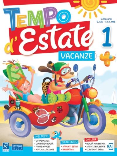 copertina quaderno delle vacanze