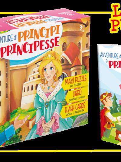 Puzzle cop principi e principesse